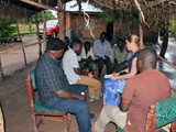 Discussion with farmer in Mjinchi