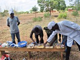 Training in fish processing