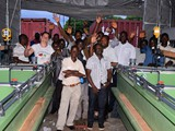 Team Germany andTeam  Malawi happy...more than 3 weeks of intensive construction work finished...